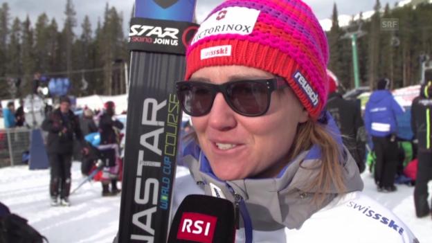 Video «Ski alpin: Interview mit Fabienne Suter» abspielen