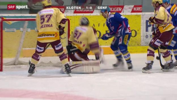 Video «NLA: Kloten - Genf» abspielen