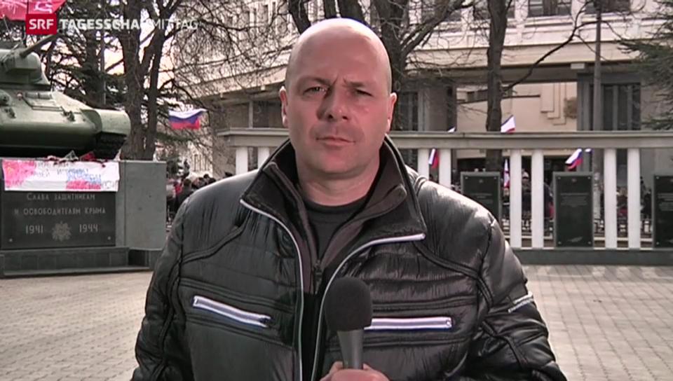 «Den Menschen auf der Krim ist Russland näher»