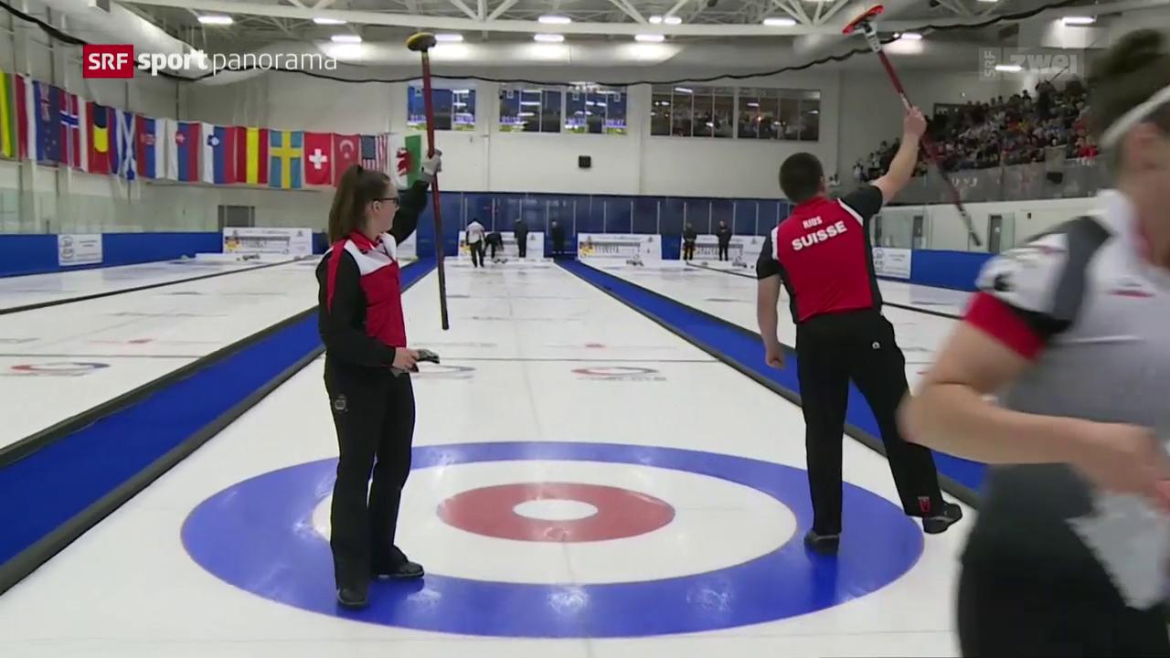 WM-Titel für Curler Rios und Perret