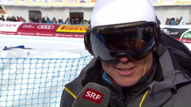 Video «Pauli Gut: «Es bleiben noch ein paar Rennen»» abspielen