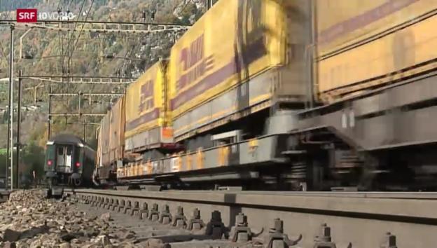 Video «Transportbranche bringt sich in Stellung» abspielen