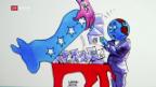 Video «Hillary Clinton gerät ins Schleudern» abspielen