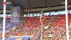 Video «Leichtathletik-WM: Stabhochsprung-Qualifikation Nicole Büchler» abspielen