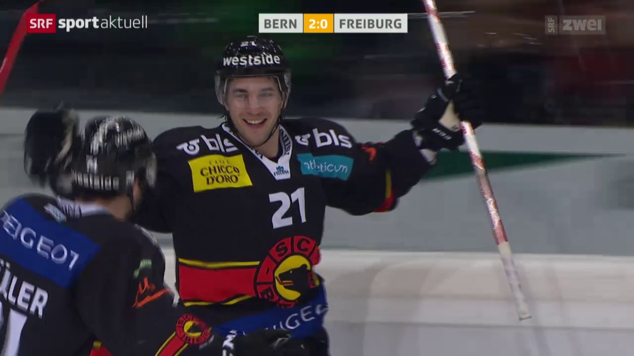 Eishockey: SC Bern - Freiburg