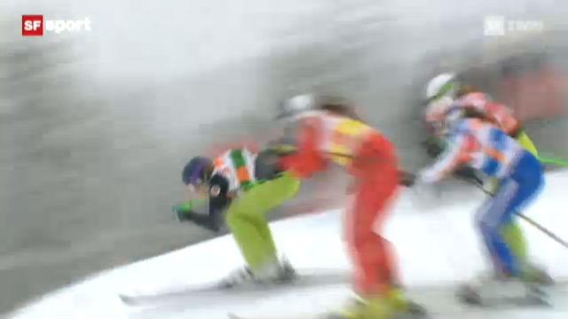 Skicross : 1. Weltcup-Sieg für Katrin Müller