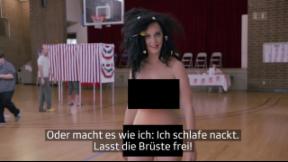 Video «Nackt im Wahlkampf: Katy Perry will mobilisieren» abspielen