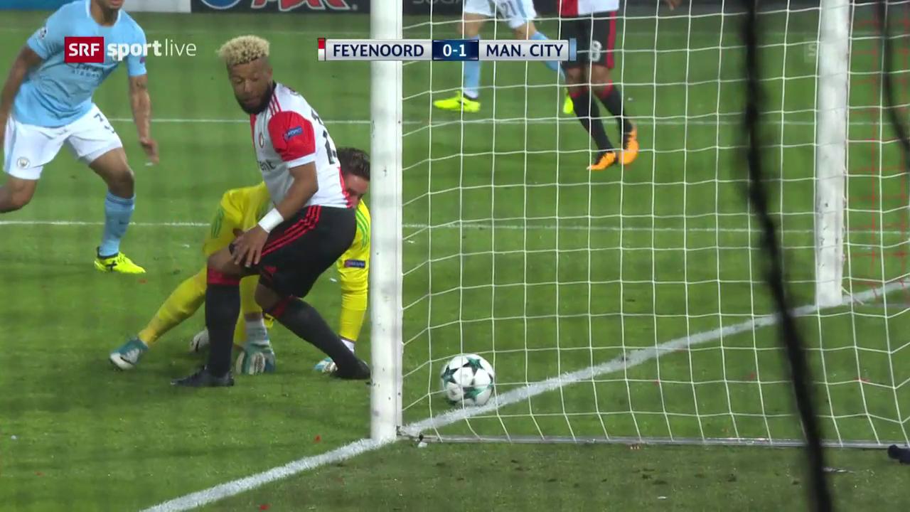 ManCity überrennt überfordertes Feyenoord