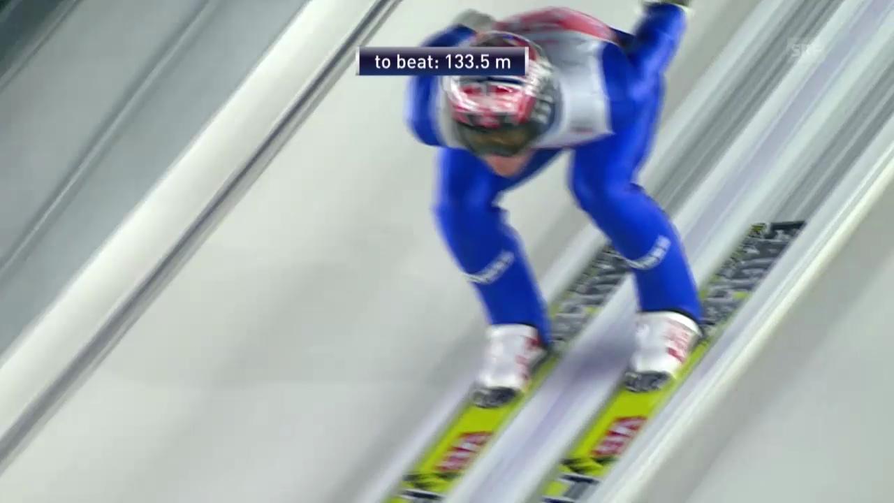 Skispringen: Vierschanzentournee, Quali-Sprung von Bardal in Oberstdorf