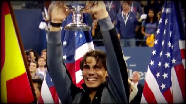 Video «Tennis: Vor Beginn der US Open» abspielen