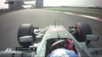 Video «Hamilton schnappt sich China-Pole» abspielen