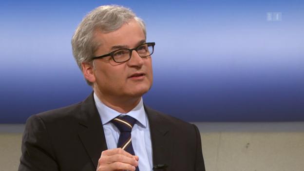 Video «Rundschau-Theke: Markus Somm, «Basler Zeitung»» abspielen