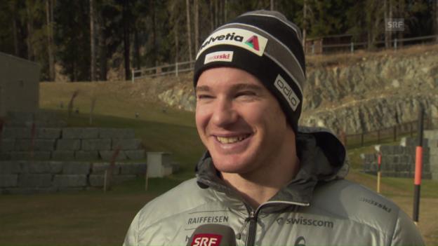 Video «Dario Cologna über die Heimrennen in Davos» abspielen