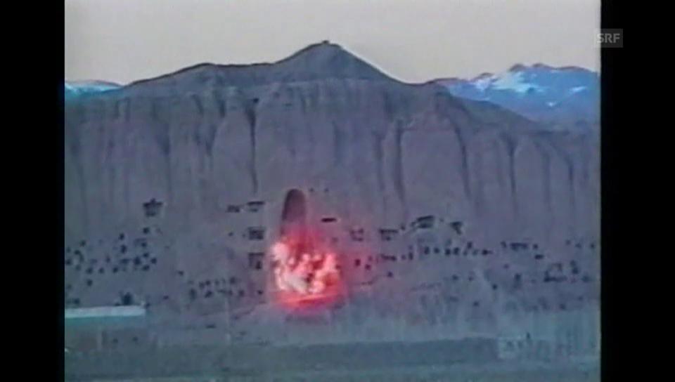 Zerstörung der Buddha-Statuen in Bamian (1992)