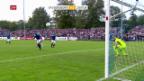 Video «Fussball: Cup, Bassersdorf - Zürich» abspielen