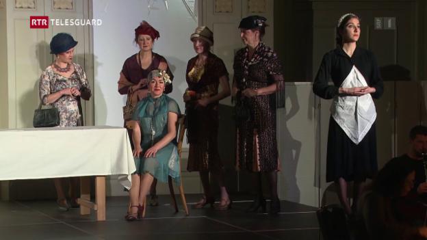 Laschar ir video «La Compagnia Rossini vegn a Flem en il Waldhaus»
