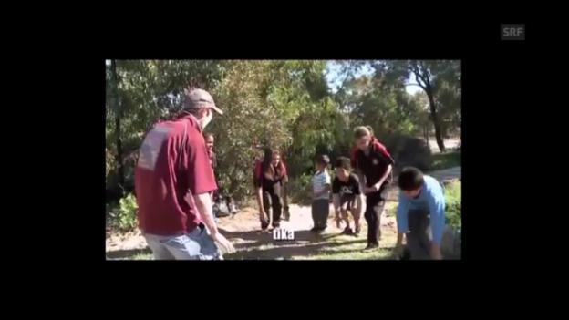 Video «Kaurna-Unterricht mit Jack Buckskin (Univ. of Adelaide/ Youtube)» abspielen