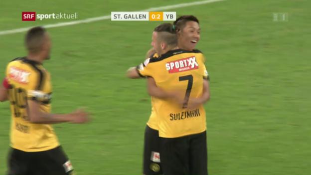 Video «Kubo trifft gegen St. Gallen» abspielen