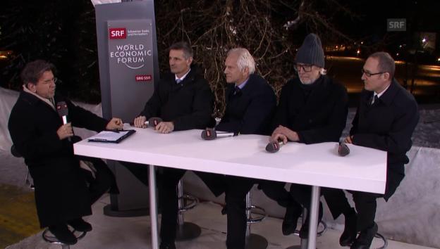 Video «WEF-Fazit der Bündner Behörden» abspielen