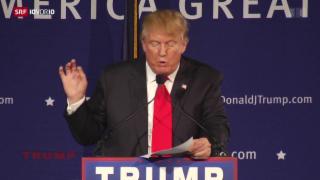 Video «Trumps Drang nach Aufmerksamkeit» abspielen