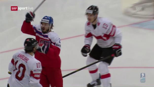 Video «Die Live-Highlights von Tschechien - Schweiz» abspielen