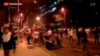 Video «Massendemonstrationen gegen Fussball-WM» abspielen