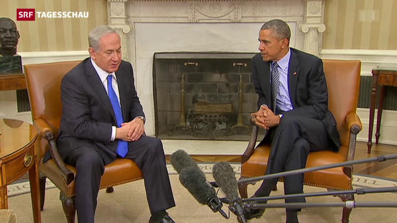 Obama und Netanjahu reden miteinander