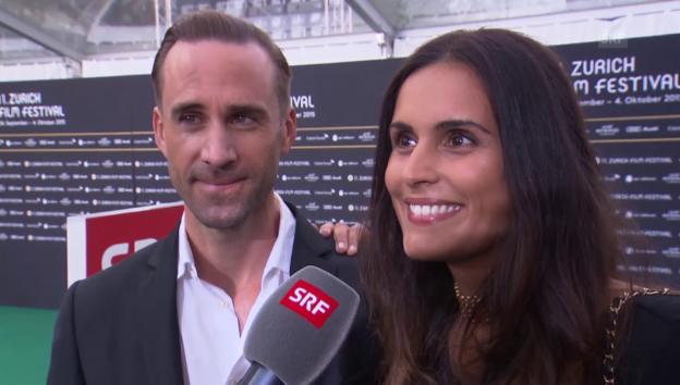 Video «Das Ehepaar Fiennes-Dolores-Diéguez über die Schweiz» abspielen
