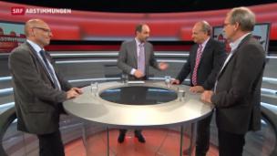 Video «Runder Tisch über das Nein zur Volkswahl des Bundesrats» abspielen