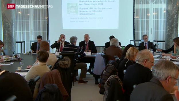Video «Schweizer Finanzunterhändler warnt vor Folgen der SVP-Initiative» abspielen