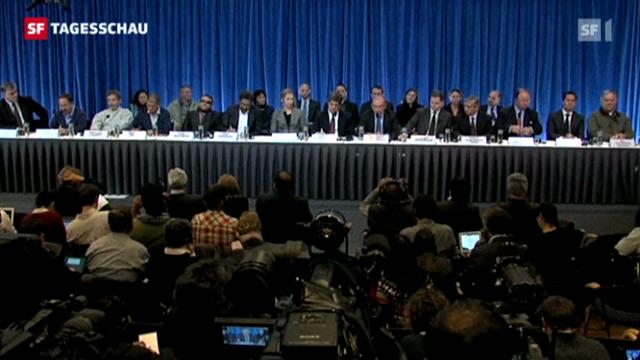 Neue Friedensverhandlungen zwischen der Guerillagruppe «Farc» und der kolumbischen Regierung (Tagesschau 18.10.2012, 19:30 Uhr)