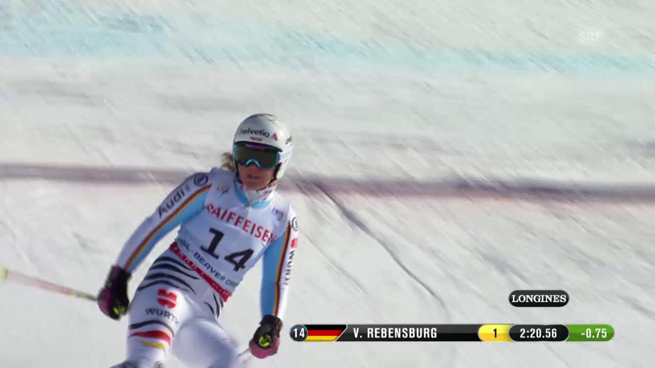 Ski: WM 2015, 2. RS-Lauf von Viktoria Rebensburg