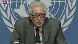 Video «Syrien-Konferenz in Genf» abspielen