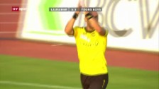 Video «Sutters Treffer gegen Lausanne (20.07.2013)» abspielen