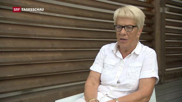 Video «Del Ponte versteht ihr Rücktritt als Provokation» abspielen