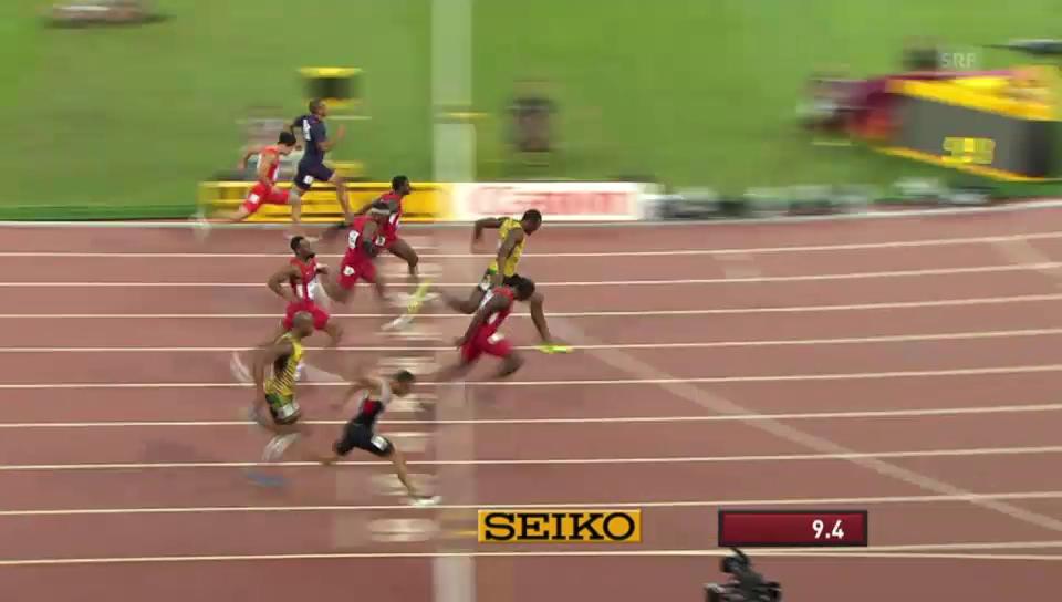 LA: WM 2015, 100 m Final