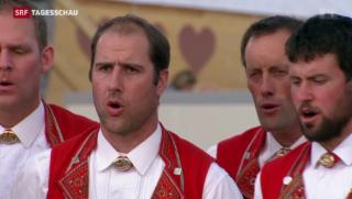 Video «UNESCO soll das Jodeln und die Basler Fasnacht schützen» abspielen