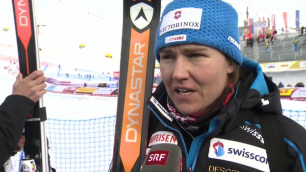 Video «Fabienne Suter: «Ich habe noch Verbesserungspotenzial»» abspielen