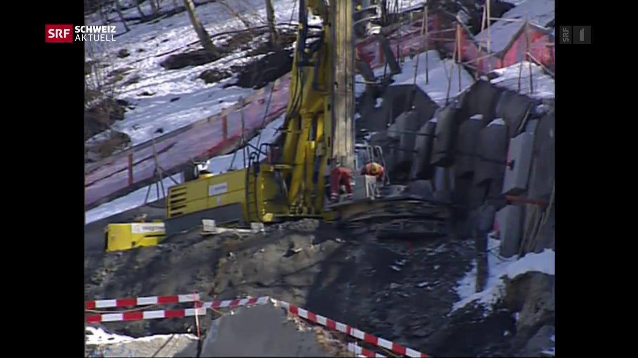 Riedbergtunnel wird gebaut