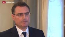 Video «Nationalbank streng gegen harten Frankenstärke» abspielen