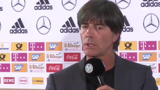 Video «DFB-Coach Löw zur Nominierung von Podolski» abspielen