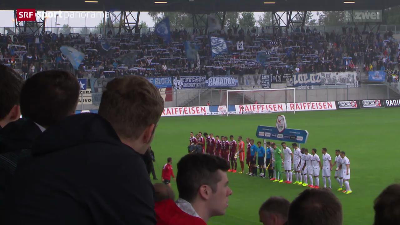 Fussball: Erstes Vaduz-Heimspiel nach dem Wiederaufstieg