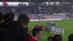 Video «Fussball: Erstes Vaduz-Heimspiel nach dem Wiederaufstieg» abspielen