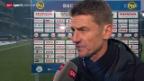 Video «Fussball: Super League, Stimmen zu YB - Zürich» abspielen