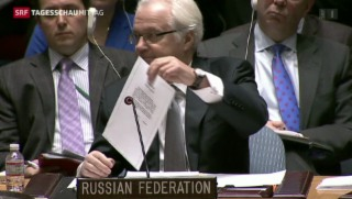 Video «Tauziehen zwischen Russland und den USA» abspielen