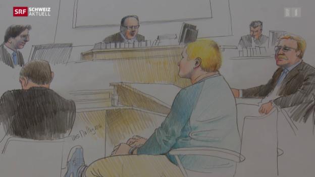 Video ««Parkhausmörderin» vor Bezirksgericht» abspielen