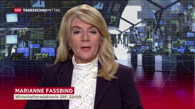 Video «Marianne Fassbind zur Intervention der SNB» abspielen