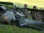 Video ««Tagesschau» 25.5.2001: Absturz eines Alouette-Helikopters im Jura» abspielen
