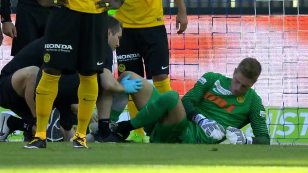 Video «Von Ballmoos verletzt sich, Wölfli kommt» abspielen