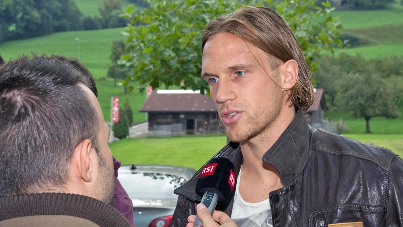 Michael Lang vor dem Albanien-Spiel (Radio SRF 1)